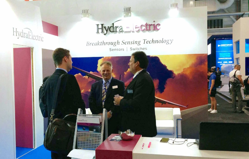 Hydra-Electric booth at #PAS2017