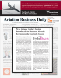 Aviation Business Daily: New, Unique Venturi Design for Business Aircraft