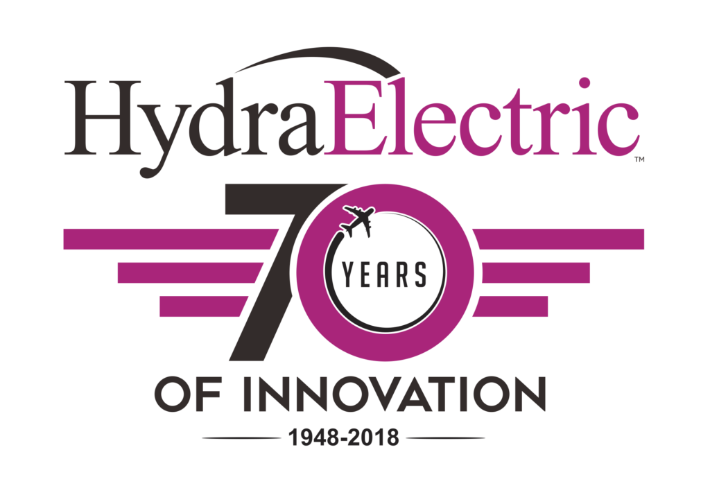 Hydra-Electric 70th Anniversary Logo