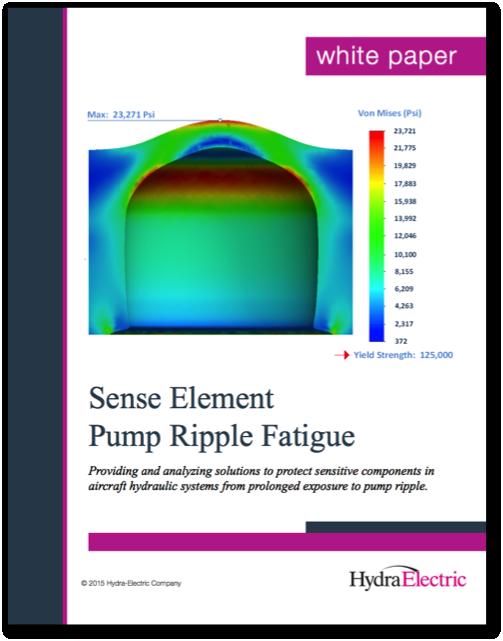 Sense Element Pump Ripple Fatigue